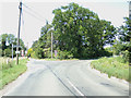 TG1218 : Reepham Road, Alderford by Adrian Cable