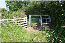 SE7843 : Path leading to Mill Lane, Bielby by Ian S