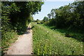 SE7946 : Wilberforce Way towards Giles Lock by Ian S