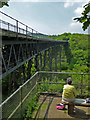 SX5692 : Meldon Viaduct by Chris Allen