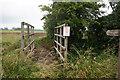 SE7726 : Footbridge off Skelton Broad Lane by Ian S