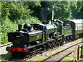 SO6107 : Double-headed at Parkend by Chris Allen
