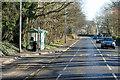 NT2461 : Samoa Terrace Bus Stop on the A701 near Milton Bridge by David Dixon