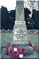 SP2798 : Great War Memorial, Baddesley Ensor by Jean Nicholson