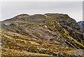NG9749 : Sgorr Ruadh from the Bealach Mòr path by Nigel Brown