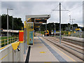 SJ7896 : Trafford Park, Parkway Metrolink Stop by David Dixon