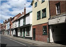 TG2309 : Flats and shops in Magdalen Street by Evelyn Simak
