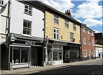 TG2309 : Shops in Magdalen Street by Evelyn Simak