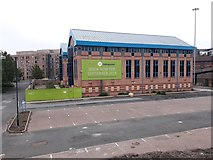 NZ2564 : Derelict offices, Trafalgar Street, Newcastle upon Tyne by Graham Robson