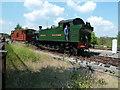 SO6302 : Demonstration goods train at Lydney Junction by Chris Allen