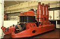 SP4975 : Preserved steam engine, Rugby by Chris Allen