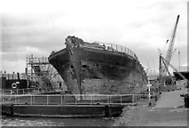ST5772 : The SS Great Britain finally back home by Martin Tester