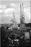 ST5772 : View over Wapping Wharf from the deck of newly arrived SS Great Britain by Martin Tester