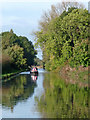 SJ7427 : Shropshire Union Canal near Knighton in Staffordshire by Roger  Kidd