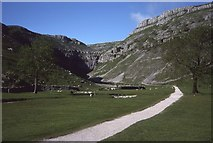 SD9163 : Track approaching Gordale Scar by Philip Halling