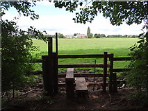 SK7046 : Stile view by Ian Paterson