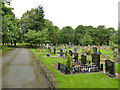 SE2639 : Lawnswood cemetery: northern extension by Stephen Craven