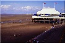 ST3049 : Burnham-on-Sea Pier by Oliver Mills