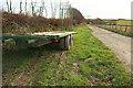 SS9534 : Farm trailer, Higher Thorn Close by Derek Harper