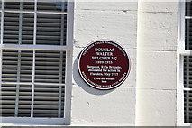 TQ5839 : Purple Plaque, Calverley Rd by N Chadwick
