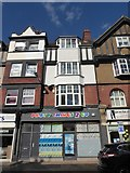 TQ0202 : Party supplies shop in Beach Road by Basher Eyre