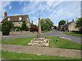 SU0497 : South Cerney Cross by Malc McDonald