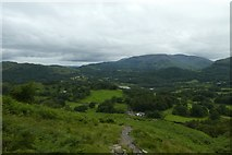 NY3404 : Path down Loughrigg by DS Pugh