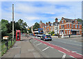 TL4459 : A pedestrian crossing on Chesterton Road by John Sutton