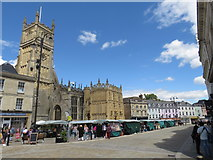 SP0202 : Market Place, Cirencester by Malc McDonald