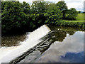 SD7913 : Weir at Burrs by David Dixon