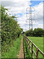 SP0300 : Public footpath near Cirencester by Malc McDonald