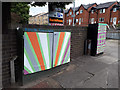 SE2435 : Two painted cabinets, Waterloo Lane, Bramley by Stephen Craven