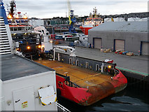 NJ9505 : E. R. Luisa berthed in Victoria Dock, Aberdeen by John Lucas