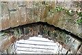SJ5359 : Portcullis Grooves in Beeston Castle by Jeff Buck
