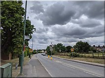 TQ5571 : Hawley Road (A225) by Paul Williams