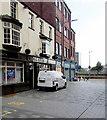 ST3188 : Butchers' van parked in Market Street, Newport by Jaggery