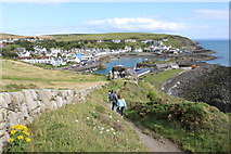 NW9954 : Approaching Portpatrick by Billy McCrorie