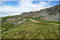 NZ0003 : Track following Windegg scar by Andy Waddington