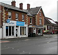 SO8005 : Sue Ryder charity shop not yet reopen, High Street, Stonehouse by Jaggery