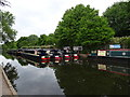 SJ9002 : Autherley Junction Boats by Gordon Griffiths