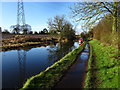 SO8694 : Sunny Canal by Gordon Griffiths