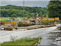 SE2635 : Construction of Kirkstall fish pass (5) by Stephen Craven
