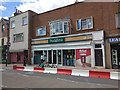 SX9292 : Temporary traffic measures in Magdalen Road, Exeter by David Smith