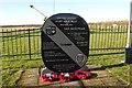 TM0793 : Old Buckenham Airfield Memorial in detail by Adrian S Pye