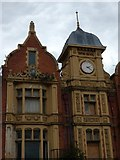 SJ7996 : Trafford Park Hotel: Architectural detail (2) by Gerald England