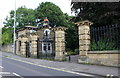 SE1634 : Entrance gateway and Lodge for Peel Park, Bolton Road by Luke Shaw
