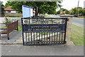 TG2812 : The Coffey Crew gates by Adrian S Pye