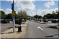 ST8879 : Car park at Leigh Delamere Services by Bill Boaden