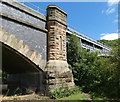 SO7778 : Elan Valley Aqueduct crossing the River Severn by Mat Fascione