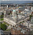 J3373 : Belfast City Hall from above by Rossographer